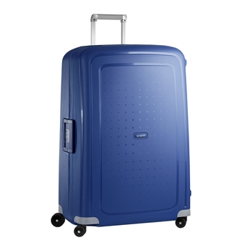 Samsonite's Samsonite S?Cure spinner 81 cm dark navy