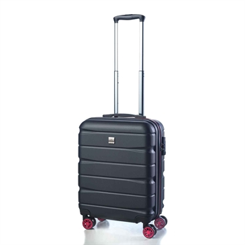 Bon Gout, kabin trolley 49 cm, 5519-sort-rubin red